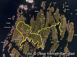 kart over kvitsøy Norsk Ornitologisk Forening Haugaland Lokallag   Kvitsøytur  kart over kvitsøy